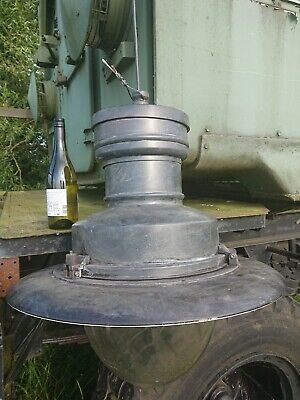 Large Industrial Light Sugg Rochester Railway Victorian Style Lantern 20thc