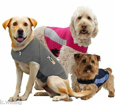 Thundershirt Dog Coat to Fear Combat Prevents Fear and Stress Dog