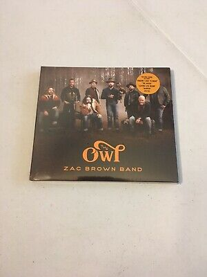 The Owl by Zac Brown Band (CD, 2019, BMG, Brand New Factory Sealed)