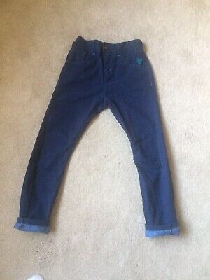 Boys Skinny Blue trousers 7Years Hight 122cm From NEXT