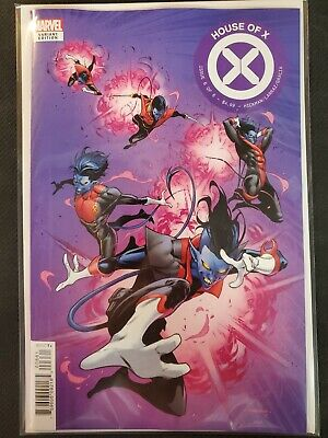 House of X #6 Coello Character Decades Variant Marvel VF/NM Comics Book