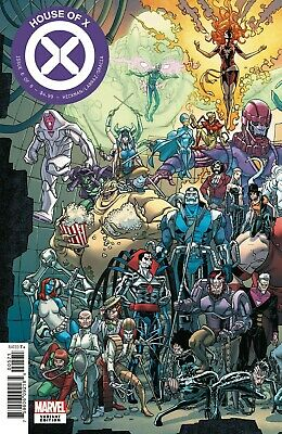 House Of X #6 (Of 6) Garron Connecting Variant Pre-Sale 10/2/19 NM