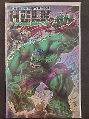 The Immortal Hulk #24 1:50 Bennett Wraparound Variant Marvel NM Comics Book