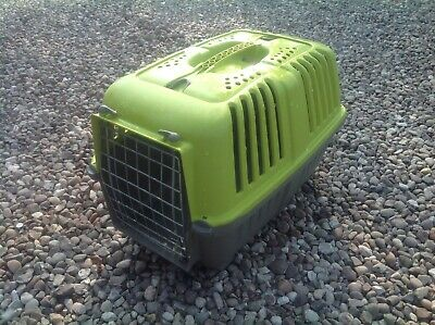 Pet Carry Crate Basket Small Dog Cat Rabbit Pre Owned