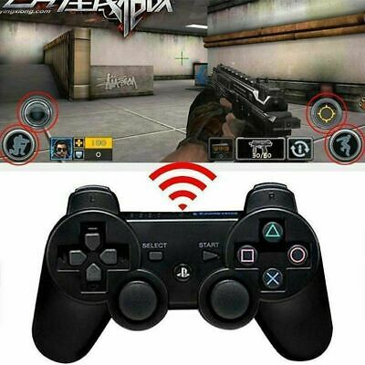 Wireless Bluetooth Game Controller Dual Vibration Gamepad For PS3 PlayStation3 v