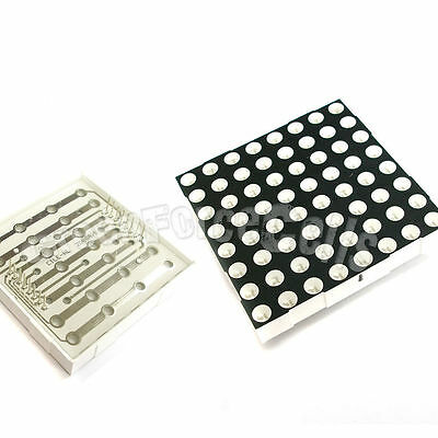 25 LED Dot Matrix Display 5mm 8x8 Red Common Anode 16p