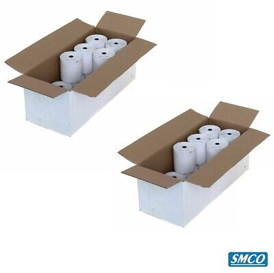 40 CASIO TE2000 TE-2000 THERMAL TILL ROLLS Cash Register RECEIPT PAPER By SMCO
