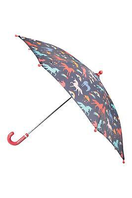 Mountain Warehouse Kids Printed Umbrella Fun and Durable Polyester - 40 cm