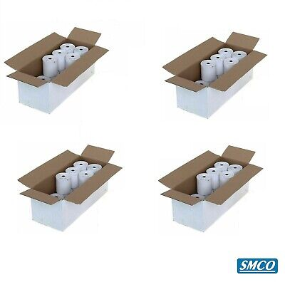 80 CASIO TE-M80 TEM80 THERMAL TILL ROLLS Cash Register RECEIPT PAPER By SMCO