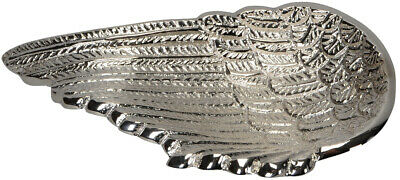 Silver Angel Wing Trinket Tray Dish Plate Jewellery Decorative Home Decor