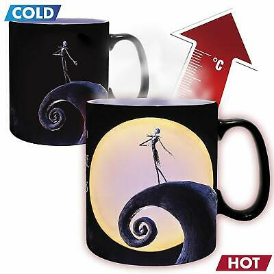 Official Nightmare Before Christmas Jack Heat Changing Magic Coffee Cup Abysse