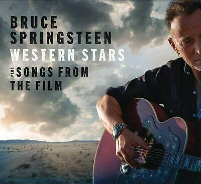 BRUCE SPRINGSTEEN WESTERN STARS + SONGS FROM THE FILM 2 CD (Released 25/10/19)