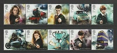GB 2018 Harry Potter Stamps Mint Never Hinged MNH