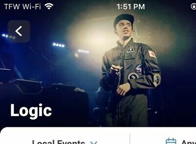 Logic Tickets EagleBank Arena Fairfax, VA Nov 2 Floor 1 Row Q 2 Tickets SOLD OUT