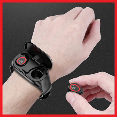 Trackbuds™ AI Smart Watch with Bluetooth Earphone - Free Shipping (-30%)
