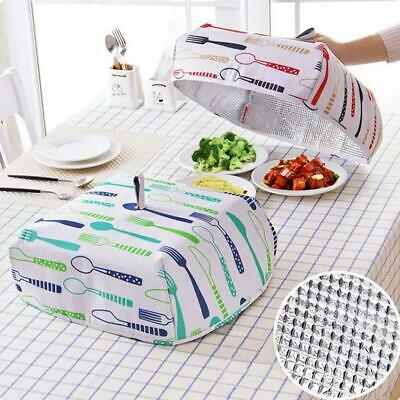 Large Thermal Dish Cover Food Cover Lid Keep Warm Foldable Aluminium foil K C6F8