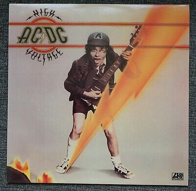 "ac/dc ""high voltage"" LP (bon scott) mint"