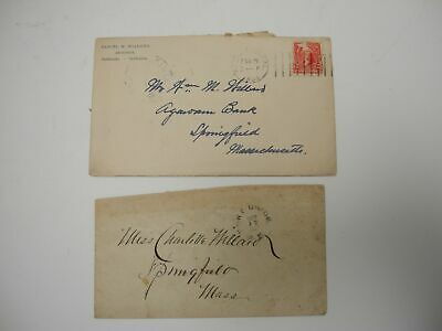 1900's Handwritten Letter Architect in Redlands, California to Springfield, Mass