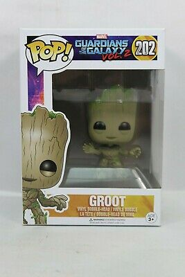 Funko Pop! Marvel 202 GOTG Guardians of the Galaxy Vol. 2 Baby Groot Pop Vinyl