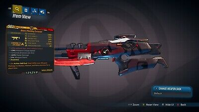 "Borderlands 3 ""Binary Mocking Cutsman"" Anointed LVL 50 GOD ROLL XBOX ONE RARE"