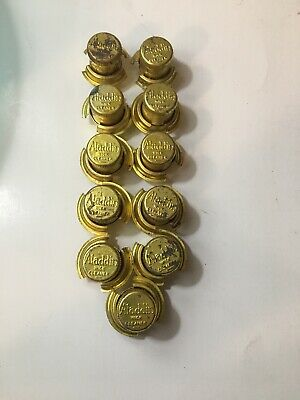 Vintage 1930's ? Aladdin Lamp Wick Cleaner Lot Of 11