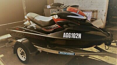 2010 Sea-Doo RXP 255RS Jet Ski and Boeing Trailer