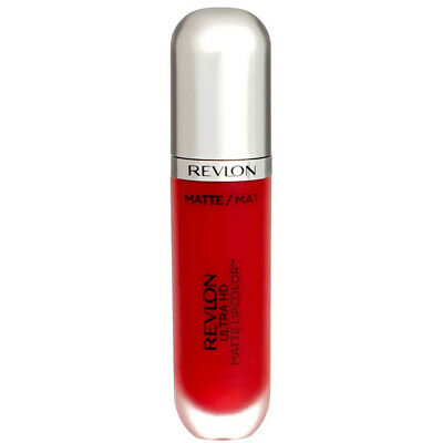 4 Pack Revlon Ultra HD Matte Lipcolor, HD Romance 660, 0.2 fl oz