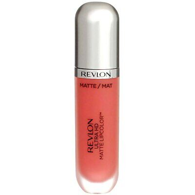 4 Pack Revlon Ultra HD Matte Lipcolor, HD Embrace 640, 0.2 fl oz