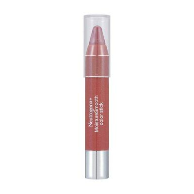 2 Pack Neutrogena MoistureSmooth Color Stick, Soft Raspberry 60, 0.011 oz