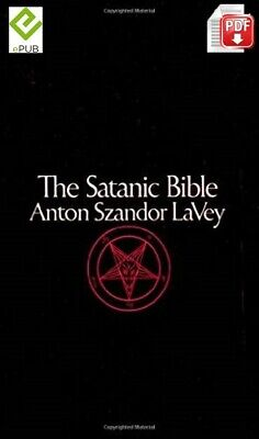The Satanic Bible by Anton Szandor Lavey (English) FAST DELIVERY [DIGITAL]