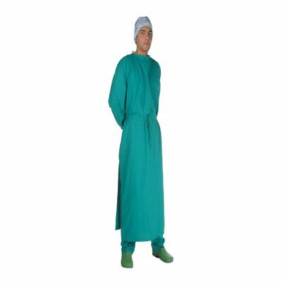 Gima - SURGERY ROOM COAT - green cotton - size 58-62 - 1 pc.