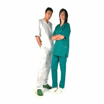 Gima - TROUSERS - green cotton - SMALL - 1 pc.