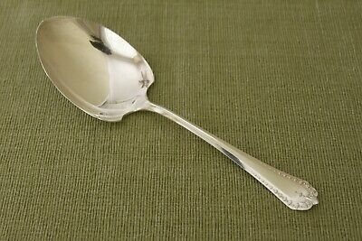 """HEATHER OVB Our Very Best Hibbard Spencer silverplate CASSEROLE SPOON 9"""""""