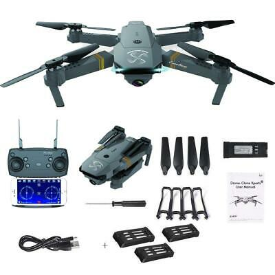 Drone X Pro EXTREME w/ Extra Batteries HD Camera Live Video WiFi FPV Voice Comma