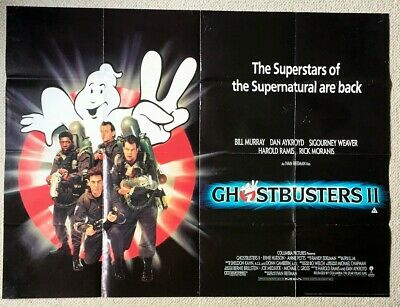 A3 Ghostbusters II 2 Vintage Movie Poster A1 A4 Sizes A2