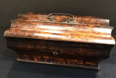 Antique Sewing Box 19th Century With Contents