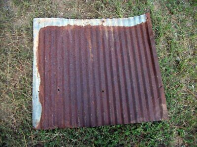 """Vintage Rustic Corrugated Tin 24""""L X 26""""W Salvaged Sheets"""