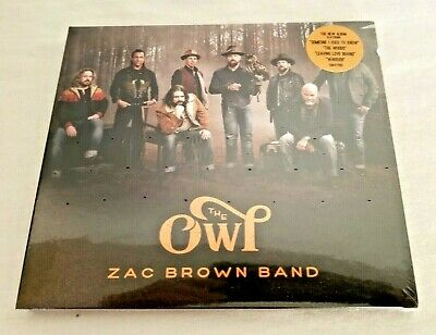 ZAC BROWN BAND - THE OWL CD New Released 2019 Music CD - NEW & FACTORY SEALED
