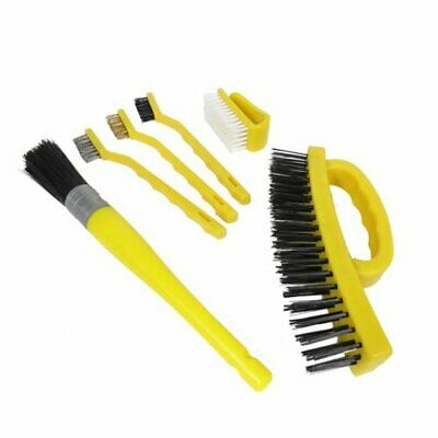 Wire Brush Variety Pack Cleaning Set (6 Piece Set)