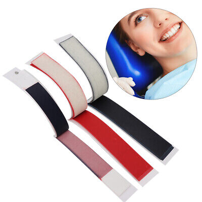 12Sheets Dental Articulating Paper Dental Lab Product Teeth Care Blue/Red Strips