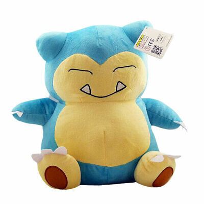 "Pokemon plush SNORLAX 30cm/12"" High Qality Large SITTING SNORLAX POKEMON PLUSHIE"