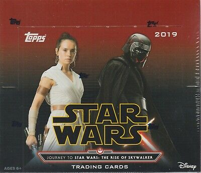 2019 Topps Star Wars RISE OF SKYWALKER Trading Cards 24pk Retail Display Box FS