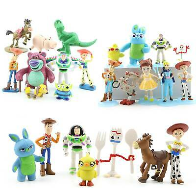 Toy Story Figure Character Woody Lightyear Rex Alien Forky Buzz Bunny Collection
