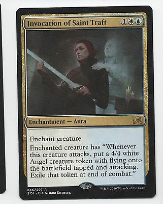 4 Invocation of Saint Traft ~ Near Mint Shadows over Innistrad 4x x4 Playset Ult