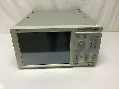 Agilent 16702B Logic Analyzer Mainframe Touchscreen w/ Opt 003 TESTED