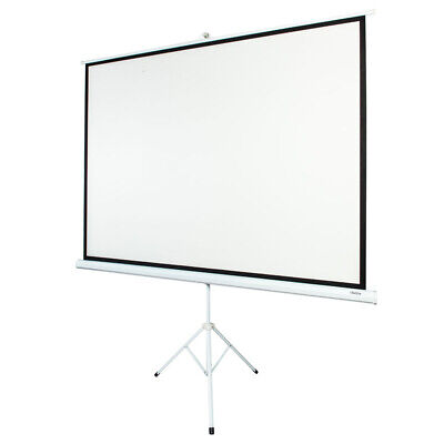 "100"" Portable Projector Screen with Stand Tripod Indoor Outdoor 4:3"