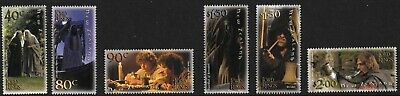 New Zealand 2001 Lord of the Rings (1st.. Issue) Gummed  MNH