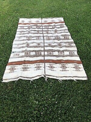 Fulani Khasa blanket stripwoven wool West Africa Condition As Seen