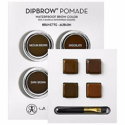 Anastasia Dipbrow Pomade Deep Brown-Black: Dark Brown, Ebony, Granite Ash Brown