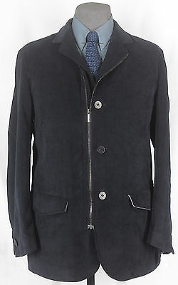 Very Very Unique Nwt Isaia Hand Made Wool-Cashmere Car/Sport Coat 40-41R 12465